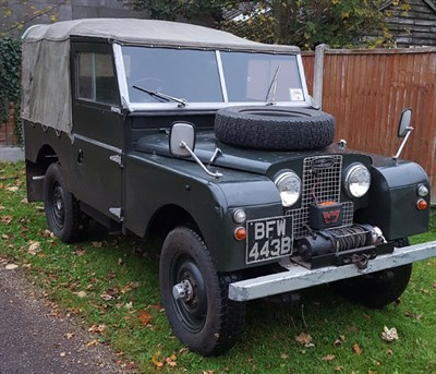 Lot 123-1958 Land Rover 88