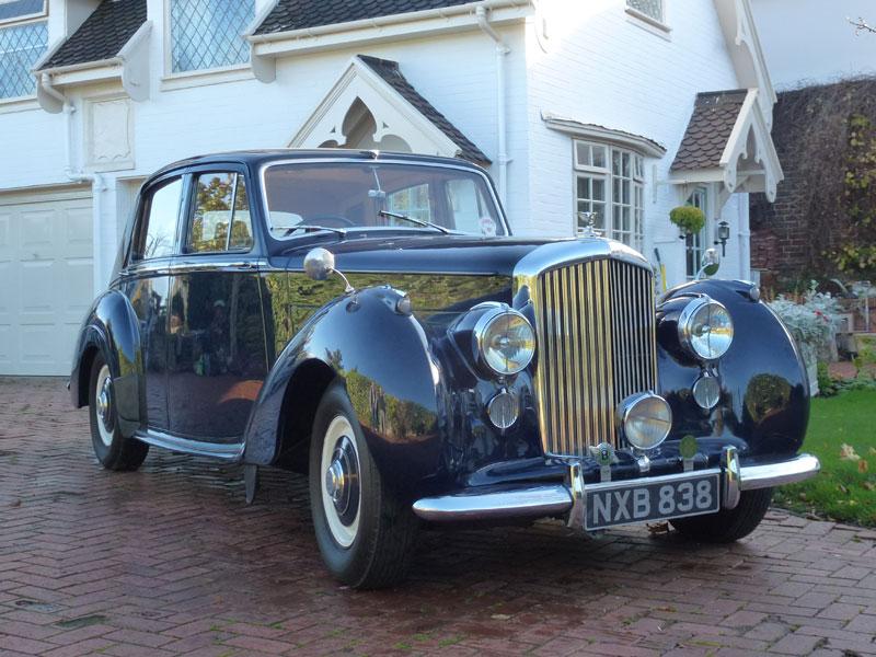 Lot 73-1953 Bentley R-Type Saloon