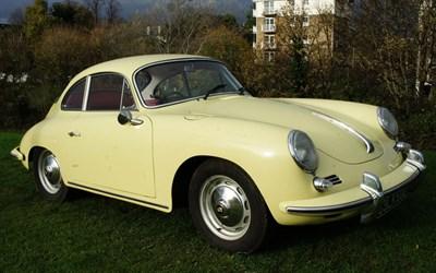 Lot 65-1962 Porsche 356B Coupe