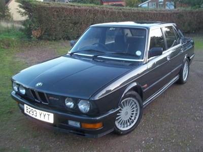 Lot 142-1985 BMW M535i