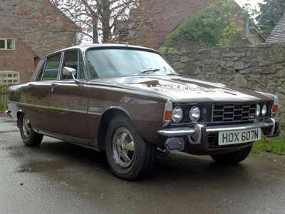Lot 76-1975 Rover P6 3500 S