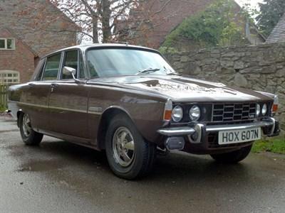 Lot 76 - 1975 Rover P6 3500 S