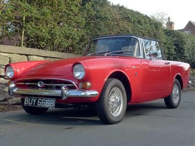 Lot 114-1967 Sunbeam Alpine Series V GT