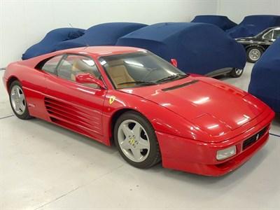 Lot 53-1990 Ferrari 348 TB