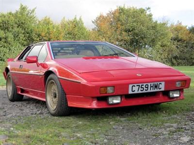 Lot 72-1986 Lotus Esprit Turbo