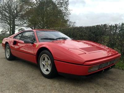 Lot 92-1986 Ferrari 328 GTB