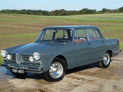 Lot 93-1965 Alfa Romeo 2600 Berlina