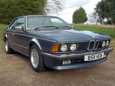 Lot 15-1985 BMW 635 CSi