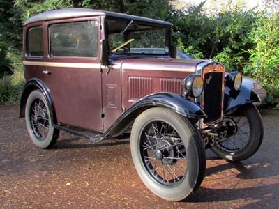 Lot 81-1931 Austin Seven Saloon