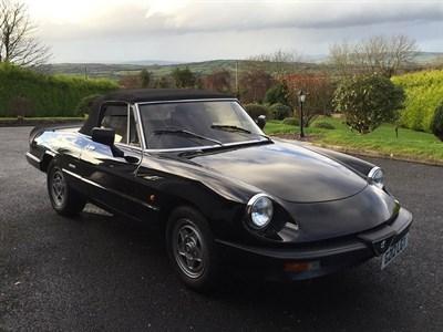 Lot 94-1990 Alfa Romeo Spider 2.0 S3