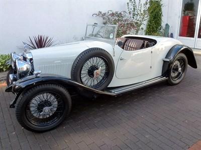 Lot 130-1933 Alvis Firefly Cross & Ellis Tourer
