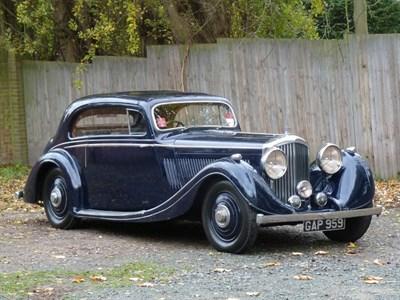 Lot 129-1936 Bentley 4.25 Litre Gurney Nutting Pillarless Coupe