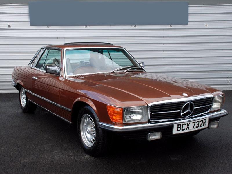 Lot 95-1977 Mercedes-Benz 450 SLC
