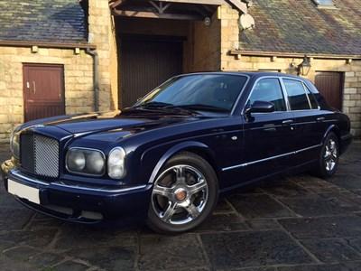 Lot 19-2003 Bentley Arnage Red Label