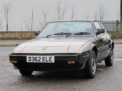 Lot 143-1987 Fiat X1/9 1500
