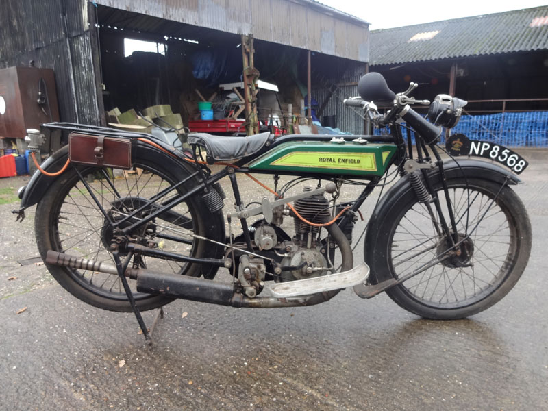Lot 11-1926 Royal Enfield 350cc