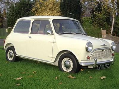Lot 96-1961 Morris Mini 850