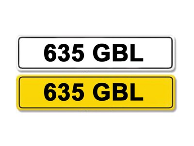 Lot 6-Registration Number 635 GBL