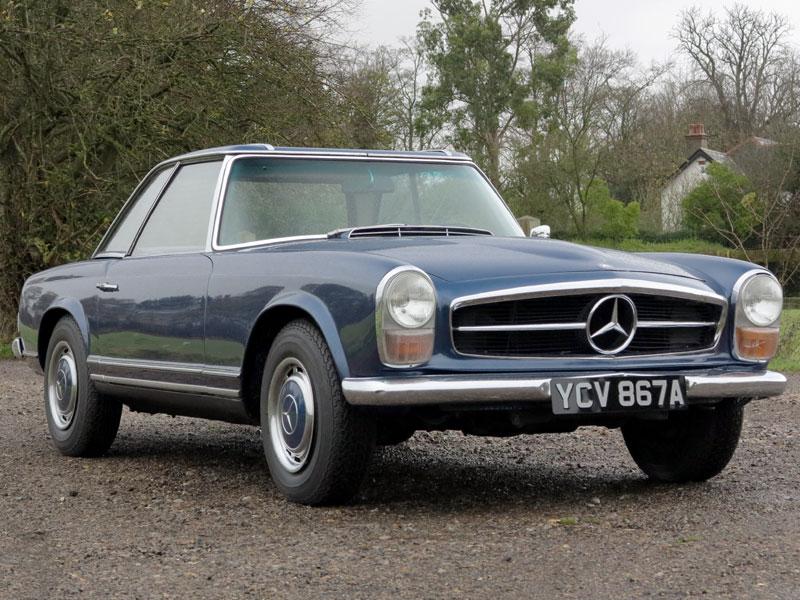 Lot 80-1963 Mercedes-Benz 230 SL