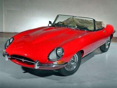 Lot 138-1962 Jaguar E-Type 3.8 Roadster