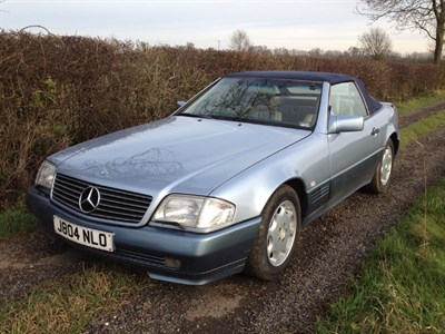 Lot 148-1991 Mercedes-Benz 300 SL-24