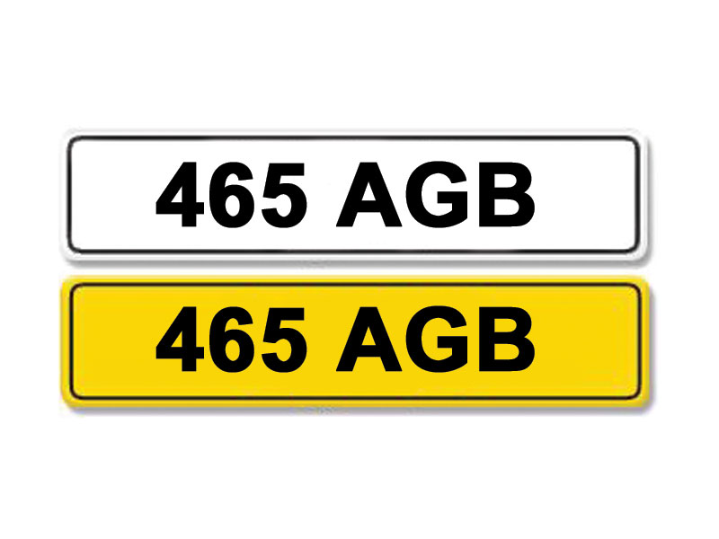 Lot 5 - Registration Number 465 AGB
