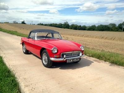 Lot 99-1963 MG B Roadster
