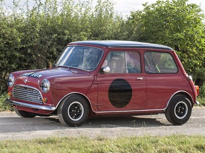 Lot 100-1960 Morris Mini Competition Saloon