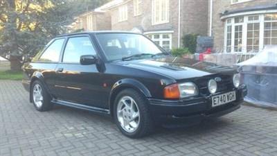 Lot 152-1987 Ford Escort RS 1600 Turbo