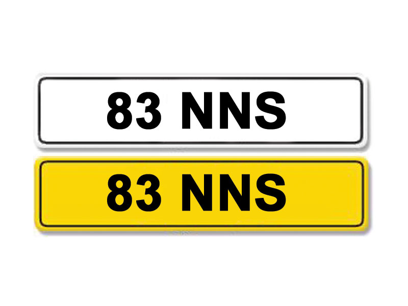 Lot 15 - Registration Number 83 NNS