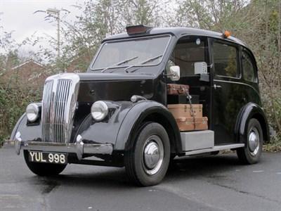 Lot 28-1960 Beardmore Paramount MK VII Taxicab