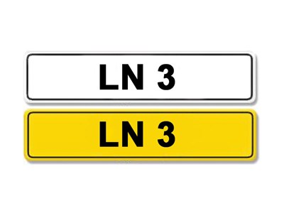 Lot 10 - Registration Number LN 3