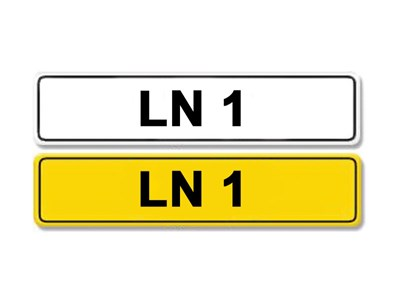 Lot 5 - Registration Number LN 1
