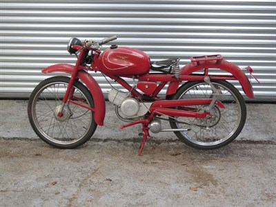 Lot 26 - 1960 Moto Guzzi Hispania 75