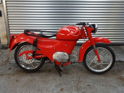 Lot 27 - 1950/1960s Moto Guzzi Hispania 110