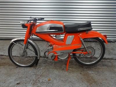 Lot 36-1960s/1970s Mobylette 49cc