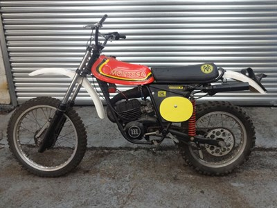 Lot 53 - 1970s Montesa Enduro H 125