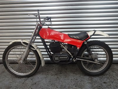 Lot 7 - c.1978 Montesa Cota 348