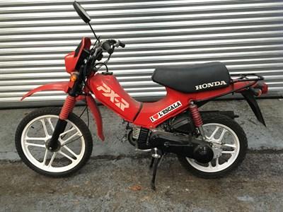 Lot 14-1980s Honda PX-R