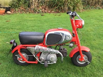 Lot 81-1964 Honda CZ100