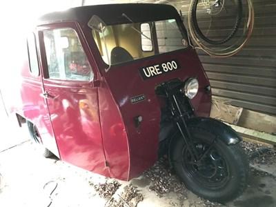 Lot 54-1950 Reliant Regent 10cwt Van