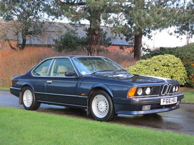 Lot 29-1989 BMW 635 CSi