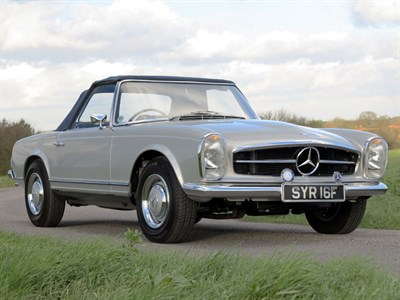 Lot 55 - 1967 Mercedes-Benz 250 SL