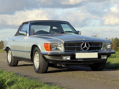 Lot 54 - 1984 Mercedes-Benz 500 SL