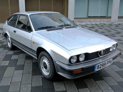Lot 41-1984 Alfa Romeo GTV 2.0