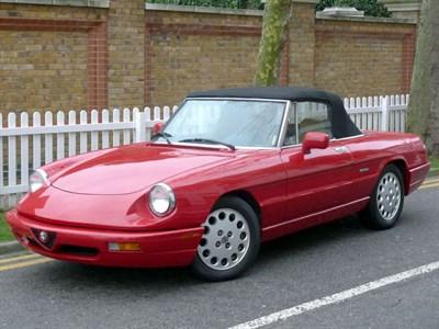 Lot 13-1991 Alfa Romeo Spider 2.0 S4 Automatic