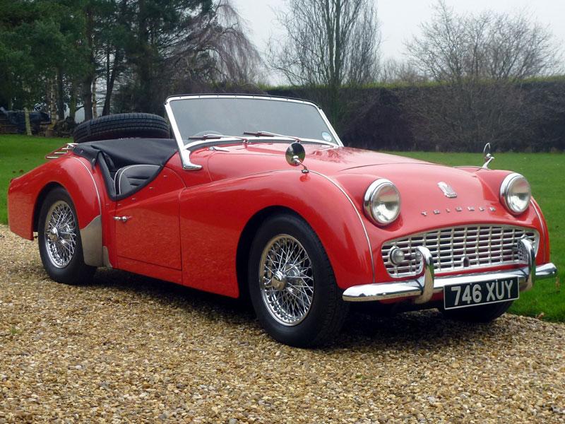 Lot 60-1959 Triumph TR3A