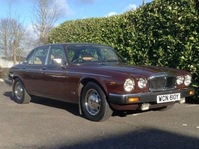 Lot 14-1983 Daimler Sovereign 4.2
