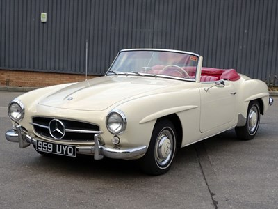 Lot 48 - 1959 Mercedes-Benz 190 SL
