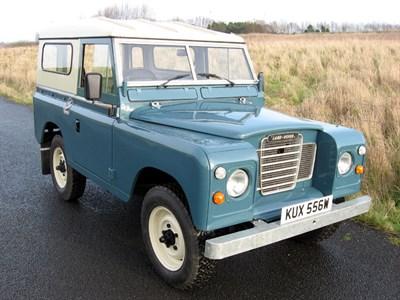 Lot 40-1980 Land Rover 88 Series III